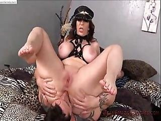 Milf Cruel Face Sitting And Ass Smelling To Her Husband