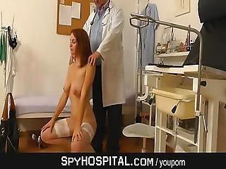Doctor Hidden Cam In Gyno Clinic Exam Room