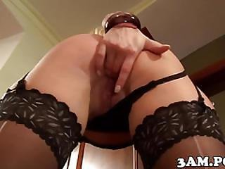 Classy Escort Babe Pussyrailed During Visit