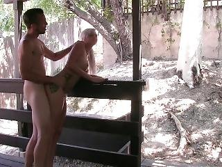 Hate Sex Outside/ Rough Sex Starring : Astrid Star And Kash Morgan