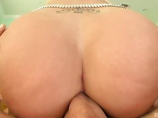 Blonde Bombshell Gets Fucked In Her Bikini