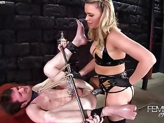 Sexy Pegging Blonde Fat Ass
