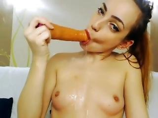 Tiny Slut Rough Anal And Throat Fuck Super Sloppy Gagging Romanian Slut