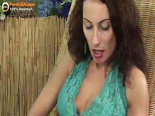 amateur milf screams from anal