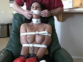 Koby Lee Tied In Chair