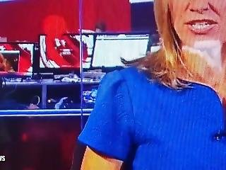 Bbc Show Topless Woman With Her Boobs Out During Live News At Ten Broadcast
