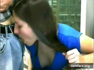 Webcam Couple In The Public Library2