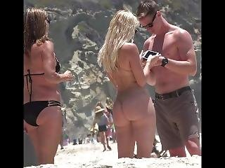 Hot Bikini Amateur Girls Spy Beach