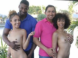 Black Dads Swap Their Ebony Stepdaughters