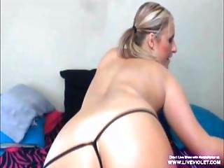 Dirty Busty Blonde Kenzie Fucks Her Pussy And Ass