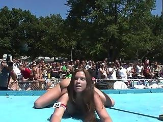 Blonde, Brunette, Busty, Competition, Dancing, Exhibition, Flexible, Nude, Spanking, Stripper, Teasing, Voyeur