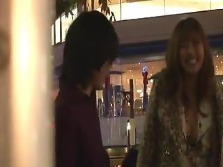 Smoking Hot Japanese Female Touches Couple Pricks Inside The Public Bus