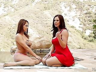 Sara Luvv And Kendra Lust At Mommys Girl