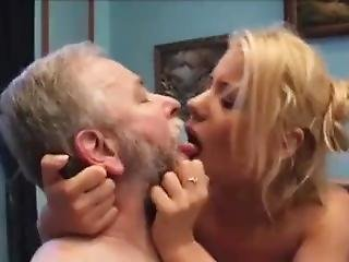Sexy Blonde Gets Fucked Old Guy (fm Cumkiss)
