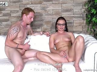 Wendy Moon Having Fun With Totally Lost Red Head Newcomer Who Fail