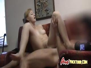 Blonde Thin Babe Eager To Ride Huge Cock After Giving Head