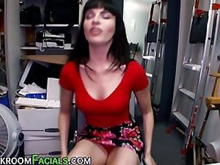 Hottie Amateur Gets Cock