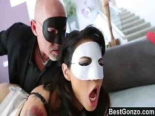 Anal, Asian, Brunette, Cumshot, Doggystyle, Facial, Fingering, Fucking, Hairy, Mask, Milf, Panties, Pantyhose, Party, Slut, Tattoo