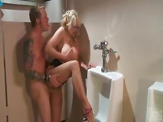 Stormy Daniels Gets Very Dirty In The Bathroom
