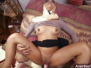 Sexy Arab Babe Gets Fucked Hard On The Bed