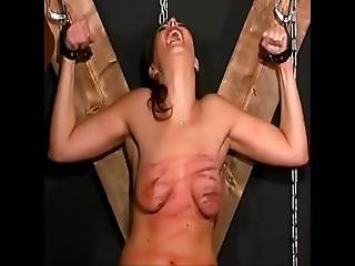 Extreme Torture Whipping And Destruction Of Her Breasts