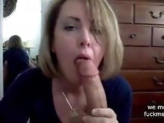 Hottest Blowjob From Milf Ever