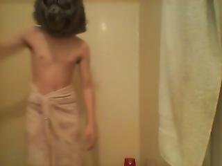 Wolfy Jerks Off After Taking A Shower