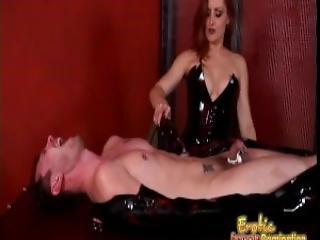 Slutty Mistress Gemini Enjoys Pleasuring A Dude S Throbbing Meat Pole