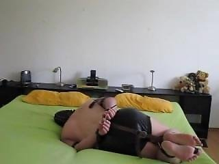 Pvc And Diaper Bondage 05