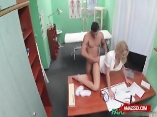 Hot Nurse Sex And Cumshot