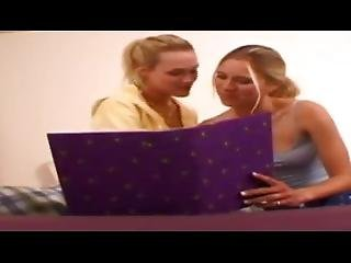 Dormroom Fantasies - College Lesbians Amy And Katie (very Hot Girl On Girl)