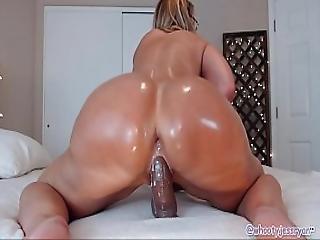 Camgirl Milf Ass Shaking Anal Bbc Jess Ryan