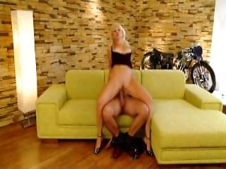 Horny Blonde Loves The Cock Playvision