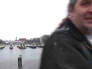 Doggystyled Amsterdam Hooker Copulates Tourist