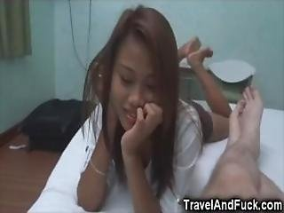 Lucky Tourist With 2 Filipina Teens!