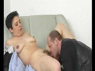 Licking Some Hairy Mature Pussy Julia Reaves