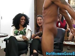 Cfnm Slut Blow Creame Bbc