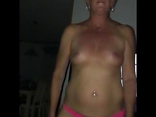 Drunk Tinder Milf Gets Slapped & Throated Like A Whore