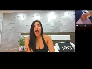 Latin Cam Girl Makes Fun Of My Micropenis Sph