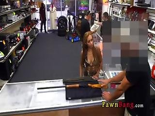 Hot Little Stripper Girl Came In The Pawn Shop 0001