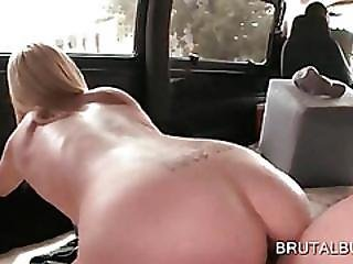 Pussy Smashed Teen Gets Mouth Cum Filled
