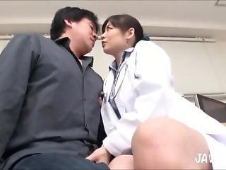 Doctor Nipple Play Handjob