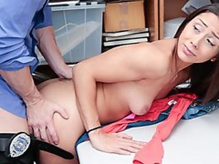 Lilli Was Being Processed Without The Cops And Was Being Banged Hardcore