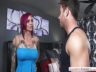 Naughty America Anna Bell Peaks Fucking In The Bed With Her