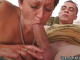 The Mature Slut Is Ripe For The Fucking