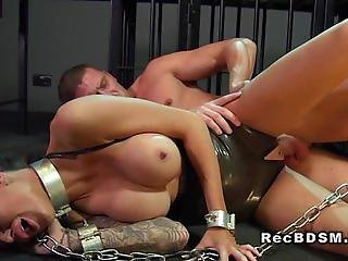 Banging, Busty, Chained, Floor
