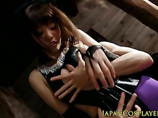 Fantasy Asian Cosplay Slut Fingered