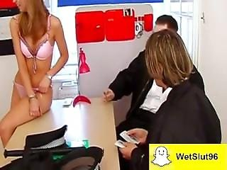 Dirty Prostitute Is Being Super Naughty