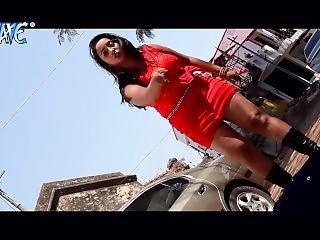 Hot Indian Girl Beats Goons