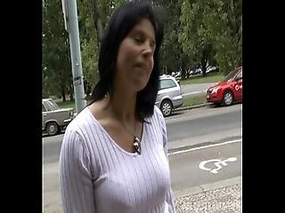 amatør, blowjob, brunette, tjekkisk, hjemme, hjemmelavet, milf, pov, offentlig, realitiet, sex